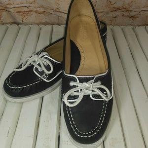 Sebago Docksides leather boat shoe Woman's 9.5